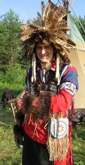 Дизайнер и редактор сайта А. Орлиное Перо, Sibirian Hochoka Wakhan Powwow, 2006